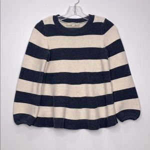 Life chunky knit striped sweater